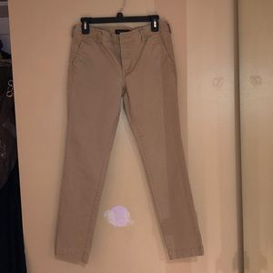 Boys slim straight khaki pants